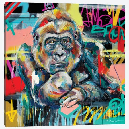Winston Canvas Print #VRX13} by Vincent Richeux Canvas Wall Art