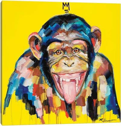 Funky Monkey Canvas Art Print