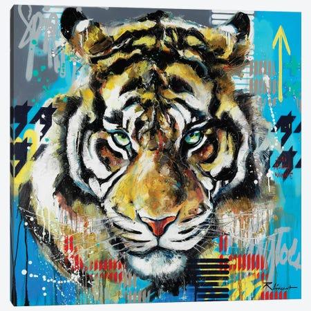 J'ai Mangé Winnie Canvas Print #VRX7} by Vincent Richeux Canvas Wall Art