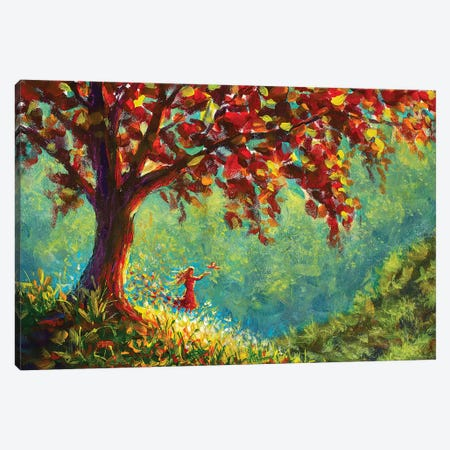 Symbol Of The Beauty Of Nature Canvas Print #VRY105} by Valery Rybakow Canvas Artwork