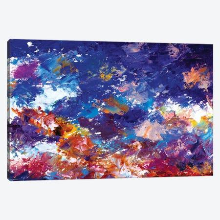 Universe Filled Stars Canvas Print #VRY111} by Valery Rybakow Canvas Wall Art