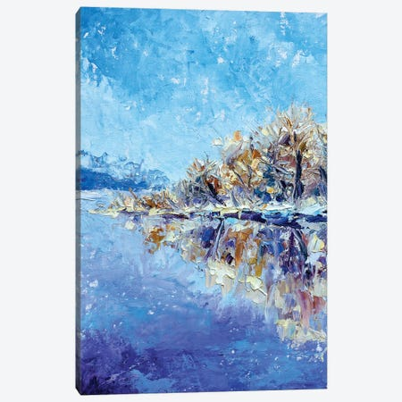 Winter Sea Canvas Print #VRY117} by Valery Rybakow Canvas Print