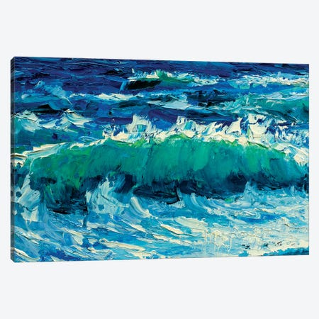 Big Wave Canvas Print #VRY12} by Valery Rybakow Canvas Print