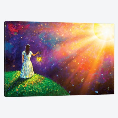 To Meet Your Dream Canvas Print #VRY131} by Valery Rybakow Canvas Artwork