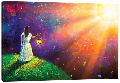 To Meet Your Dream Canvas Art Print
