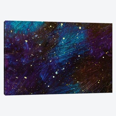Beautiful Cosmos Canvas Print #VRY132} by Valery Rybakow Canvas Art