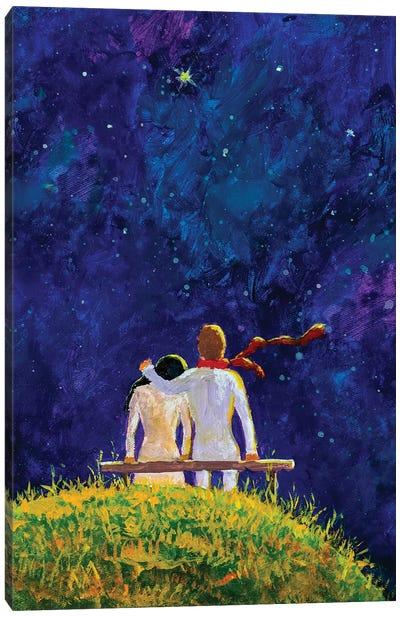 Cosmic Love Canvas Art Print