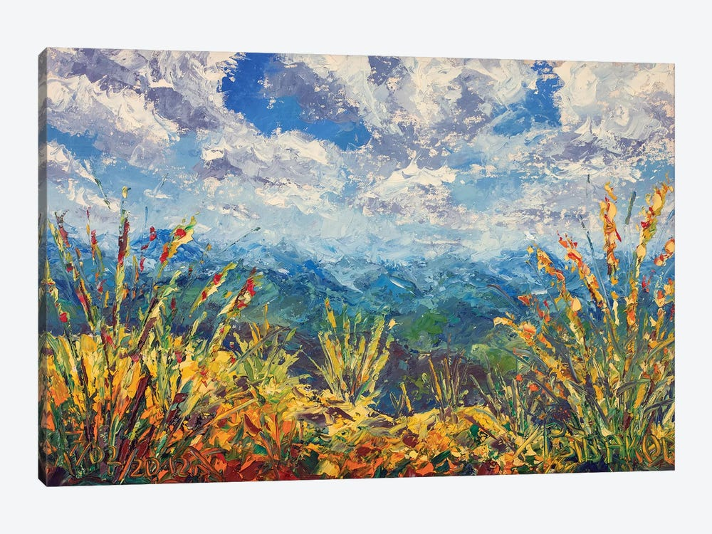 Beautiful Mountain View by Valery Rybakow 1-piece Canvas Print