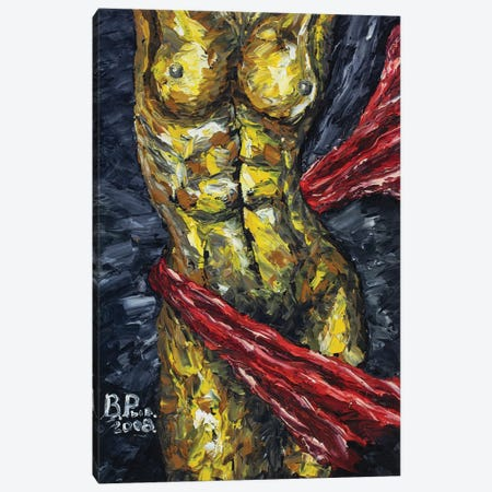 The Beauty Of The Female Body Canvas Print #VRY151} by Valery Rybakow Canvas Art