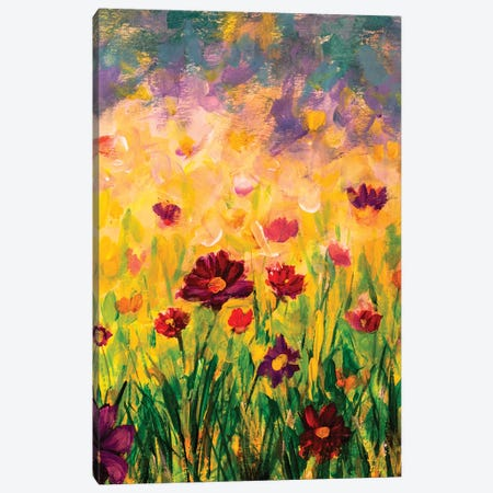 Beautiful Flowers Canvas Print #VRY160} by Valery Rybakow Canvas Art Print