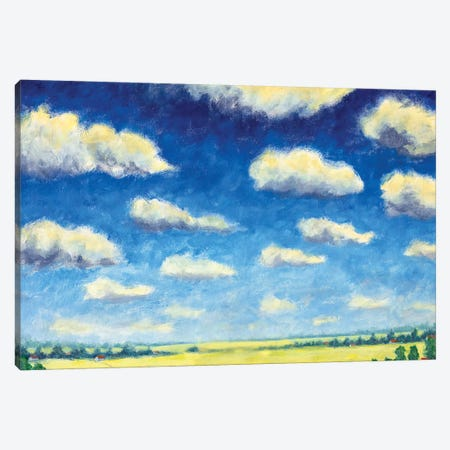 Summer Nature Canvas Print #VRY163} by Valery Rybakow Art Print