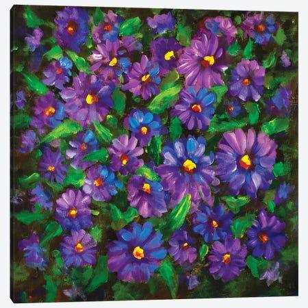 Love Flowers Canvas Print #VRY189} by Valery Rybakow Art Print