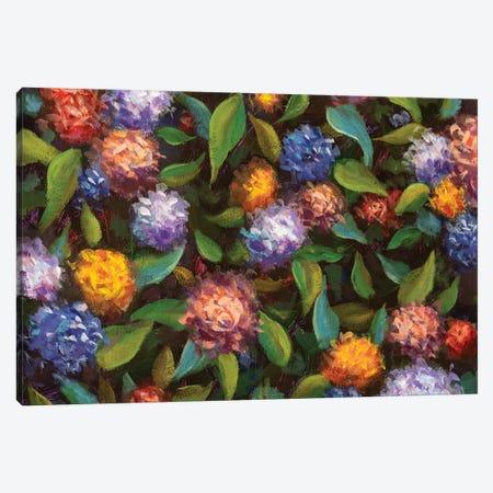 Romantic Flowers Canvas Print #VRY191} by Valery Rybakow Canvas Art