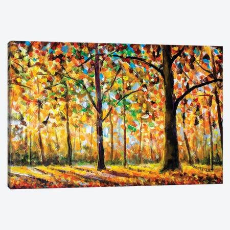 Autumn Forest Landscape Canvas Print #VRY238} by Valery Rybakow Art Print