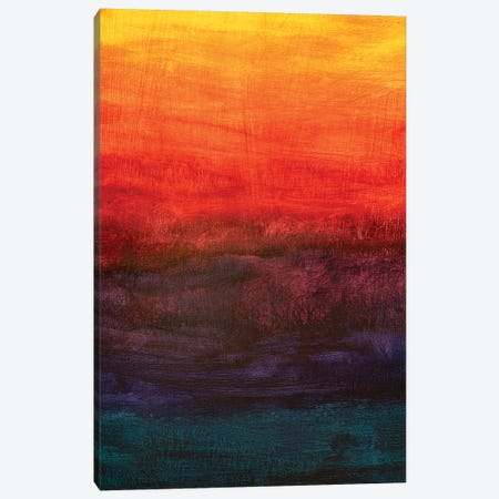 Gradient Dawn Sunset. 3-Piece Canvas #VRY370} by Valery Rybakow Canvas Art