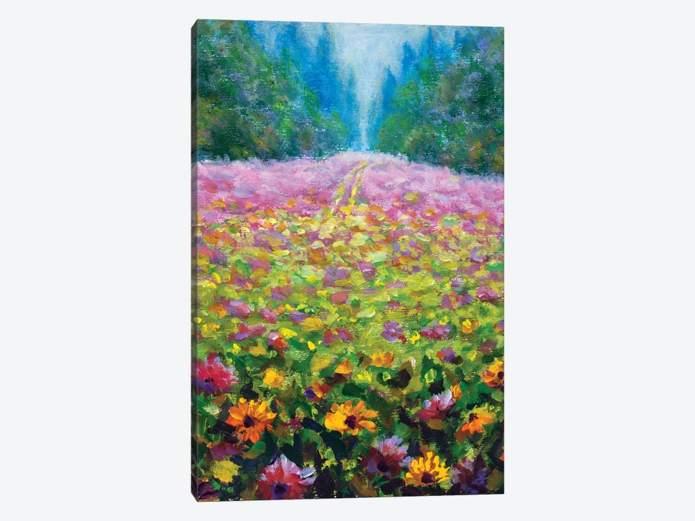 Wildflowers by Valery Rybakow 1-piece Canvas Wall Art