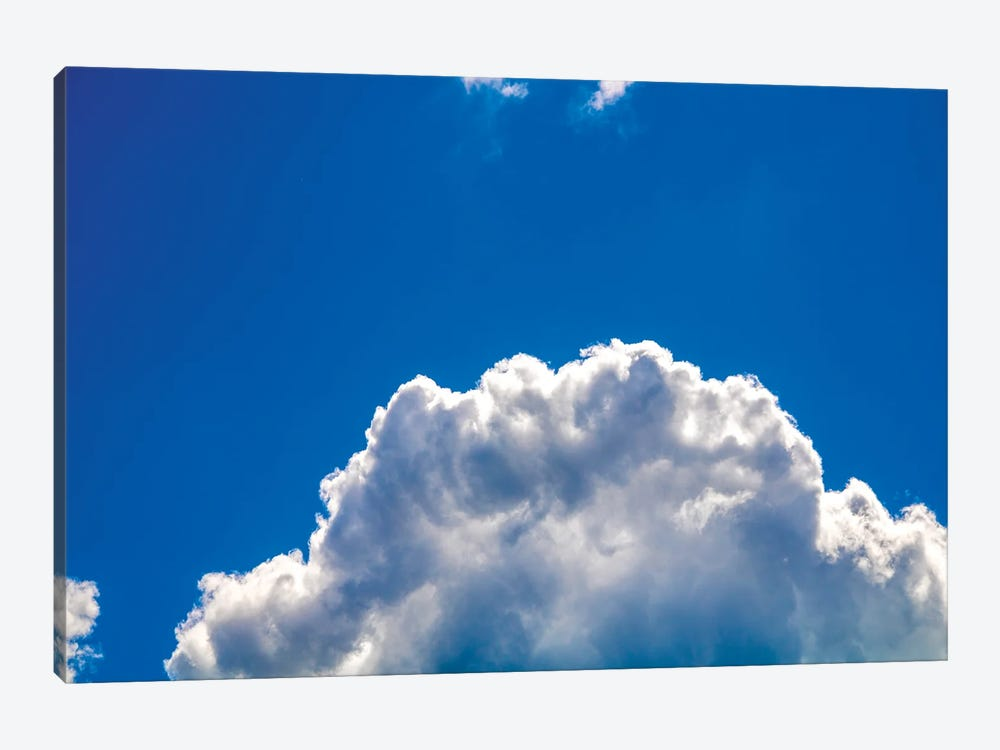 Close-up cumulus cloud with blue sky by Valery Rybakow 1-piece Art Print