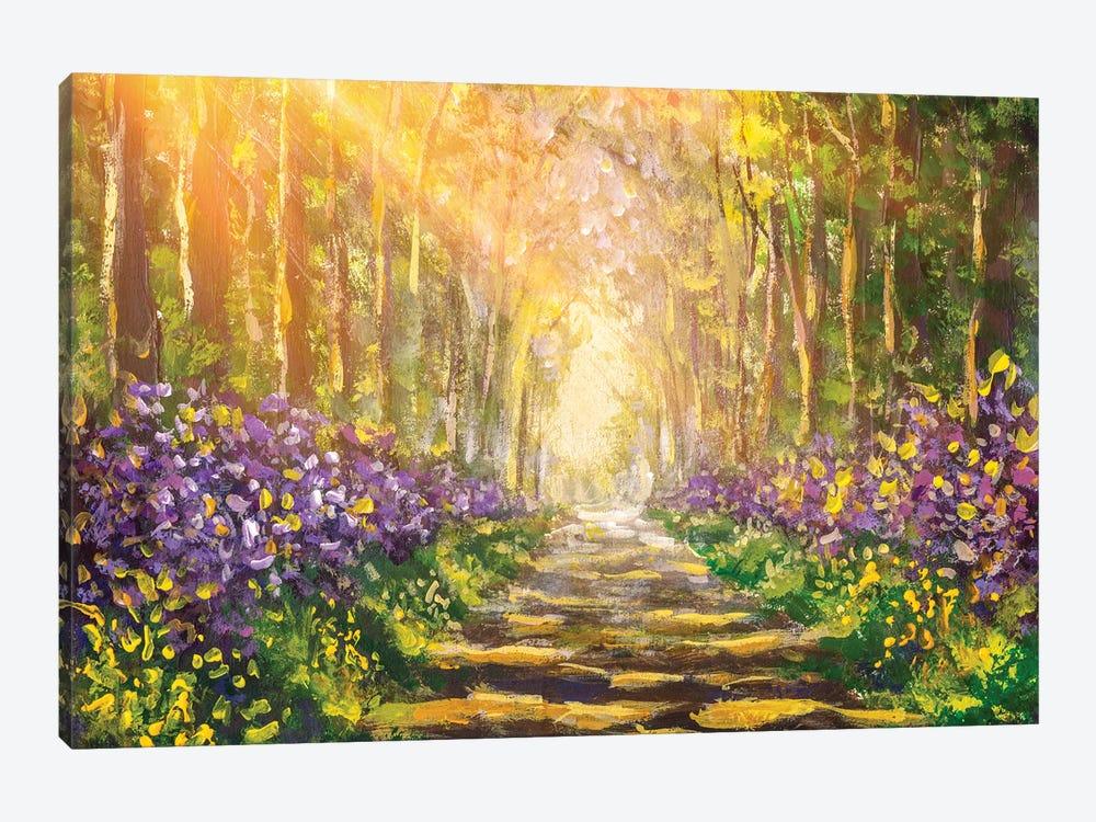 Forest Landscape by Valery Rybakow 1-piece Canvas Artwork