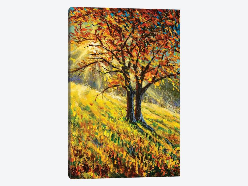 Bright Autumn Landscape by Valery Rybakow 1-piece Canvas Artwork
