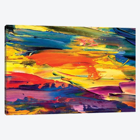 Impressionism Abstract Nature Canvas Print #VRY49} by Valery Rybakow Canvas Wall Art