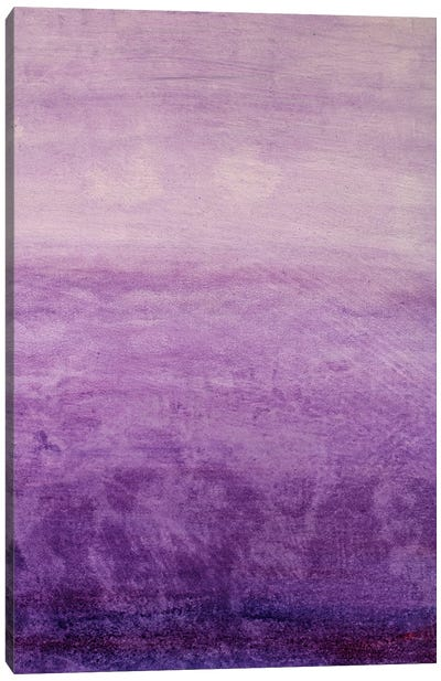 Beautiful Handmade Purple Gradient Oil Painting Watercolor On Canvas For Background Canvas Art Print