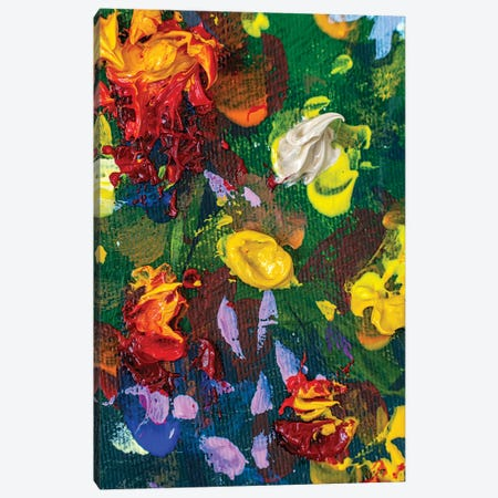 Abstract Wallpaper Painting Canvas Print #VRY537} by Valery Rybakow Canvas Art Print