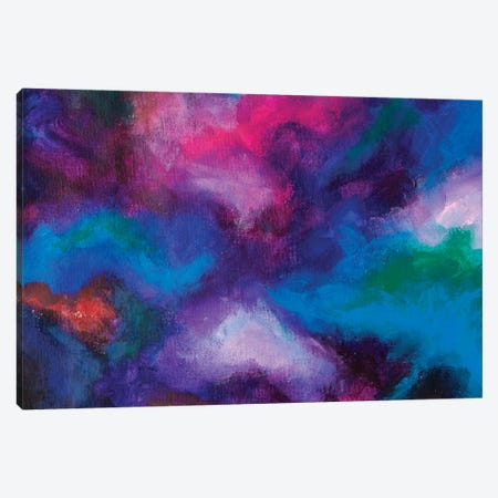 Creative Arrangement Of Dreamy Forms And Colors As A Concept Canvas Print #VRY539} by Valery Rybakow Canvas Wall Art