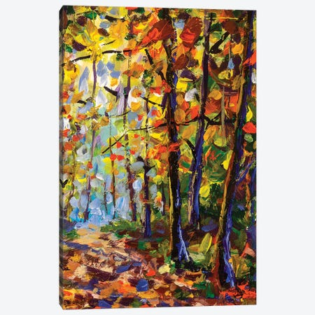 In Forest Canvas Print #VRY54} by Valery Rybakow Canvas Wall Art