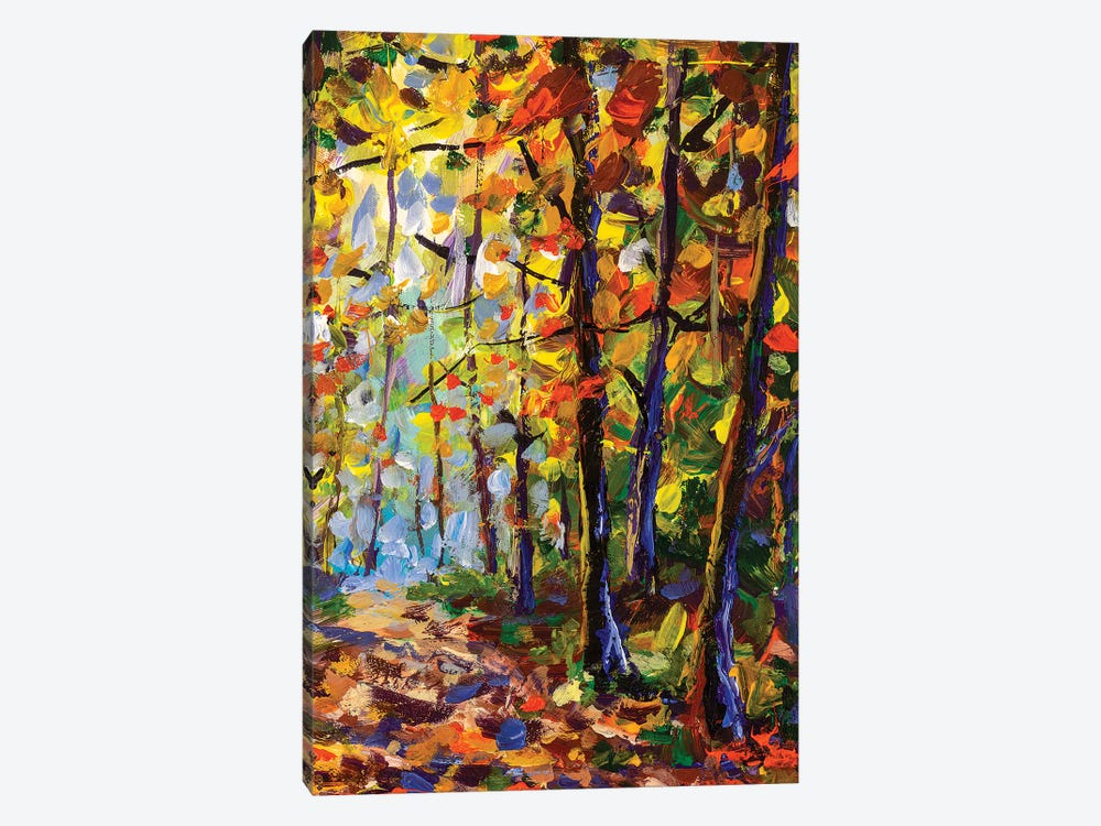 In Forest by Valery Rybakow 1-piece Canvas Art Print
