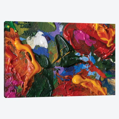 Abstract Textured Painting Canvas Print #VRY563} by Valery Rybakow Art Print