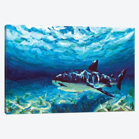 King Of The Ocean Canvas Print #VRY57} by Valery Rybakow Canvas Art