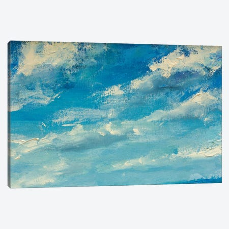 Love Clouds Canvas Print #VRY59} by Valery Rybakow Art Print