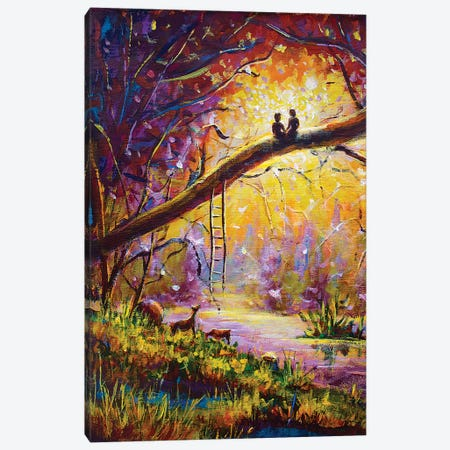 Lovers Dream Canvas Print #VRY61} by Valery Rybakow Canvas Art