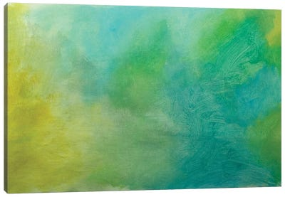 Relaxing Abstract Painting Canvas Art Print