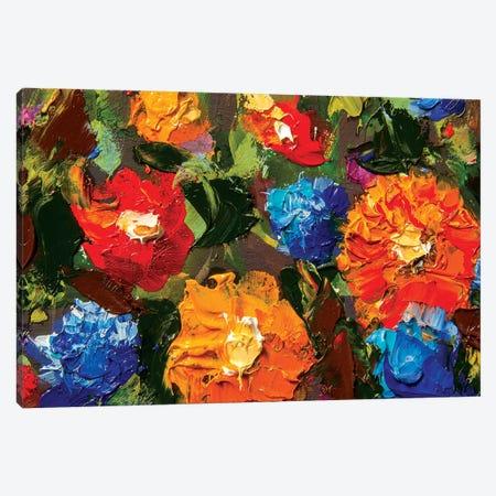 Big Flowers Canvas Print #VRY6} by Valery Rybakow Art Print