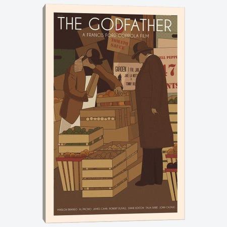 The Godfather Canvas Print #VSI101} by Claudia Varosio Canvas Artwork