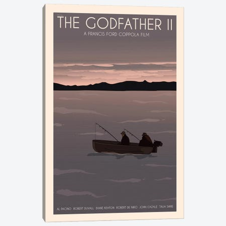 The Godfather II Canvas Print #VSI103} by Claudia Varosio Canvas Wall Art
