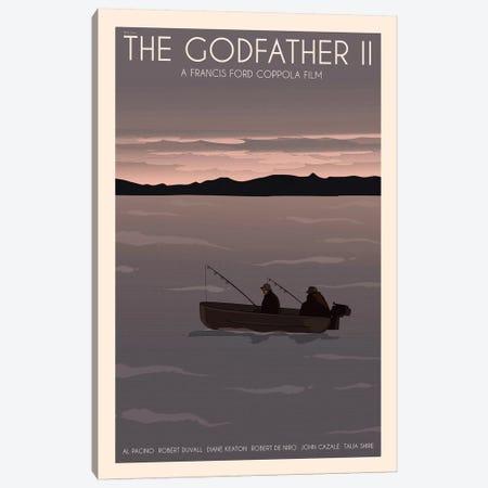 The Godfather II Canvas Print #VSI103} by Claudia Varosio Canvas Wall Art