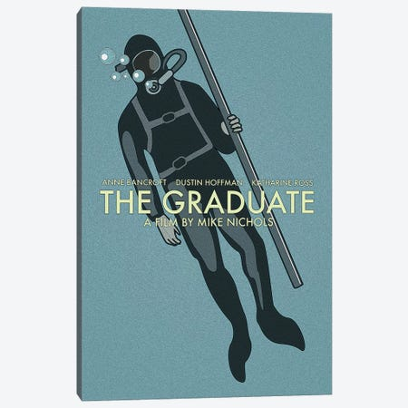 The Graduate Canvas Print #VSI105} by Claudia Varosio Art Print