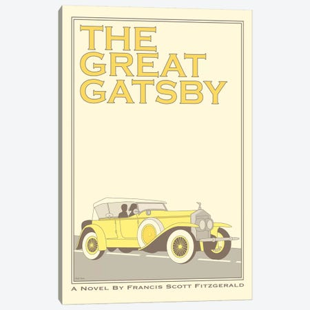 The Great Gatsby Canvas Print #VSI106} by Claudia Varosio Canvas Art Print