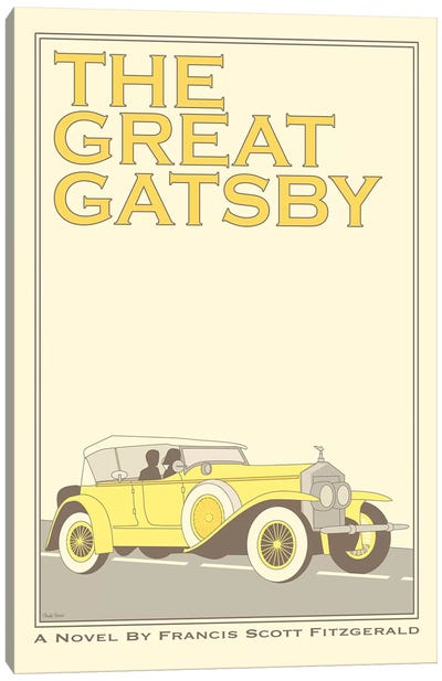 The Great Gatsby Canvas Art Print