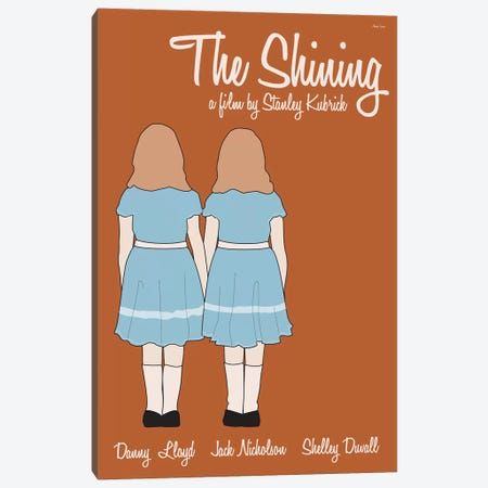 The Shining Canvas Print #VSI107} by Claudia Varosio Canvas Art Print