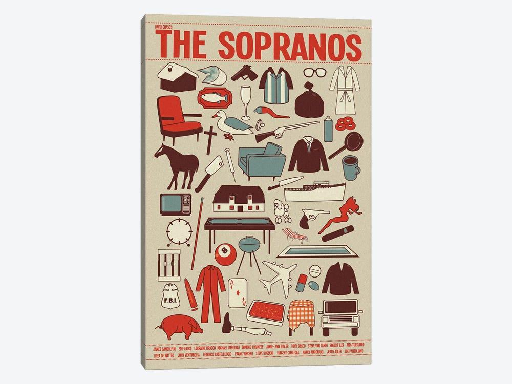 The Sopranos by Claudia Varosio 1-piece Canvas Wall Art