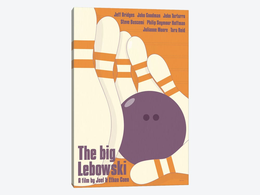 Big Lebowski by Claudia Varosio 1-piece Canvas Artwork