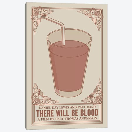 There Will Be Blood Canvas Print #VSI111} by Claudia Varosio Canvas Art Print