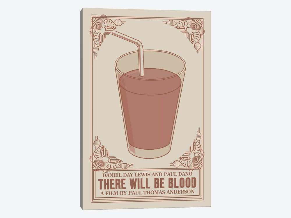 There Will Be Blood by Claudia Varosio 1-piece Canvas Wall Art