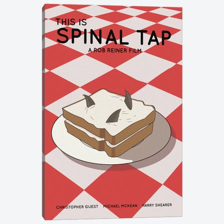 This Is Spinal Tap Canvas Print #VSI112} by Claudia Varosio Canvas Print