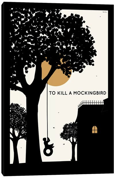 To Kill A Mockingbird Canvas Art Print