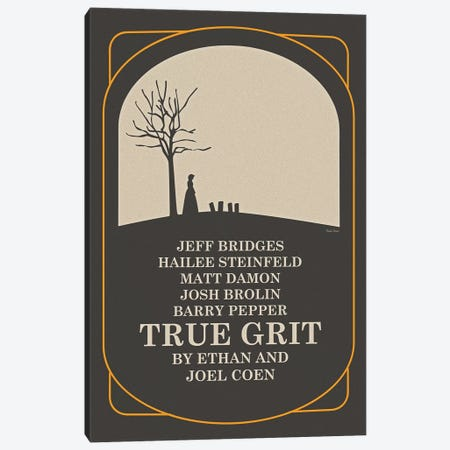 True Grit Canvas Print #VSI115} by Claudia Varosio Canvas Wall Art