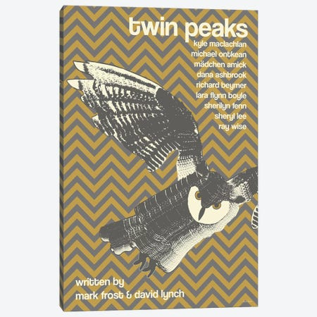 Twin Peaks Canvas Print #VSI116} by Claudia Varosio Canvas Wall Art